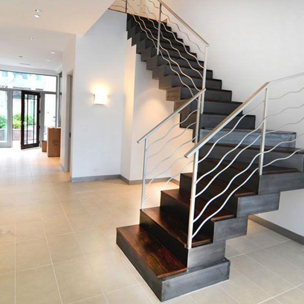 custom-built-staircase-modern-design-metal-railing-downtown-chicago